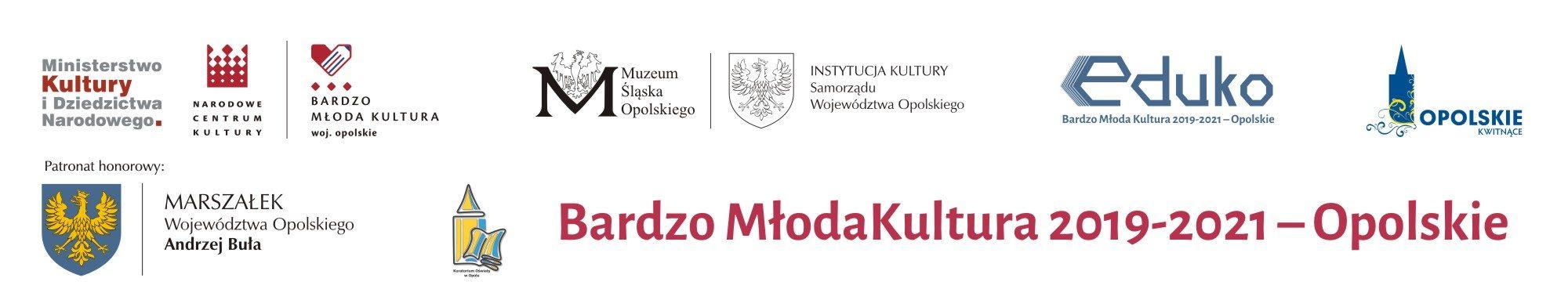 Bardzo Młoda Kultura 2019-2021 – Opolskie